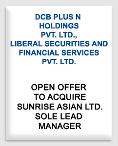 DCB Plus N Holdings Private Limited, Liberal Securities & Financial Services Priae Limited