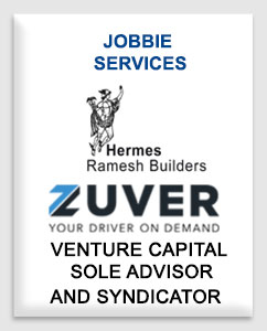 Jobbie Services funded by Ramesh Builders Private Limited