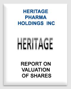 Heritage Pharma Holdings Inc