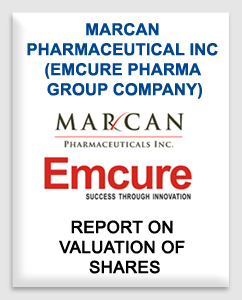 Marcan Pharmaceutical Inc (Emcure Pharma group company)