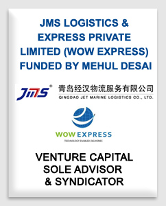 JMS Logistics & Express Private Limited (Wow Express) funded by Mehul Desai